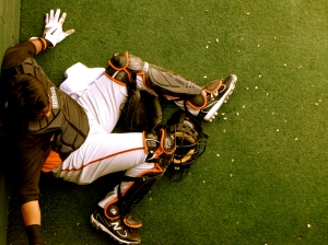 Hector Sanchez, SF Giants